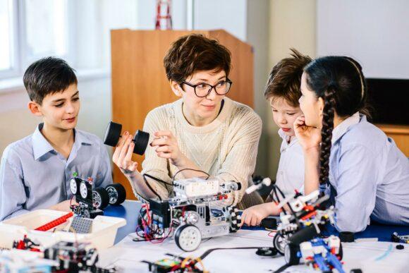 Förderung Projekten in Schulen zu Wissenschaft und Forschung